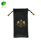 wholesale soft drawstring custom microfiber eye glasses sunglasses bag pouch case with digital printing logo