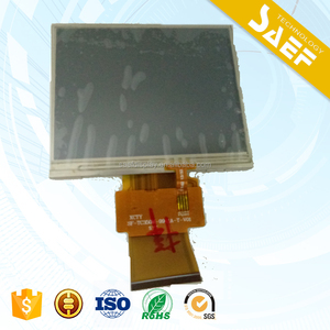 Rohs compliant 3.5 inch lcd display with Anti-glare touch panel RGB interface
