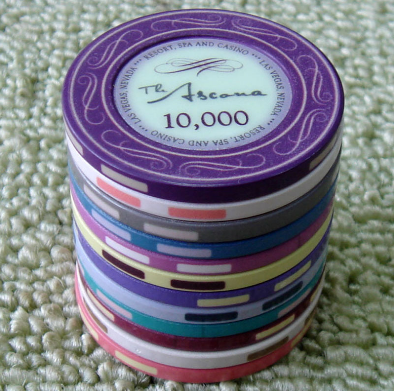 Professionele Custom Logo Keramische Casino Gaming Poker Chips 10g