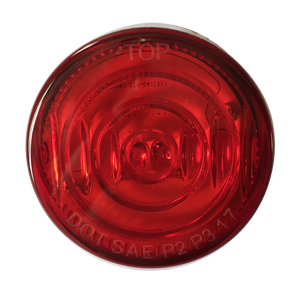 LED 2'' Red Marker & Clearance Truck Light for Truck Tailor and Bus