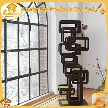 cheap moden wooden cat furniture cat climbing tree china factory supply u0026 houses