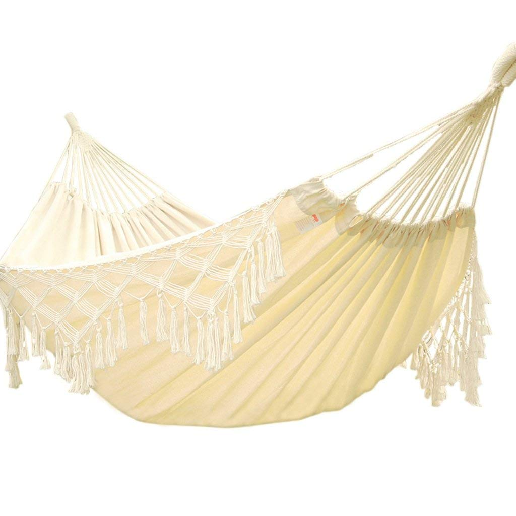 Ren Chang Jia Shi Pin Firm Hammock outdoor hammock indoor children adult swing double home cotton swing