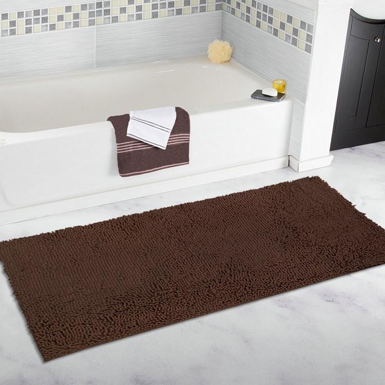 Cuarto de baño antideslizante corredores alfombra y alfombra de área