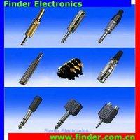 Audio Connector - 2.5mm, 3.5mm, 6.35mm & XLR Audio Plug, Jack and Adaptor