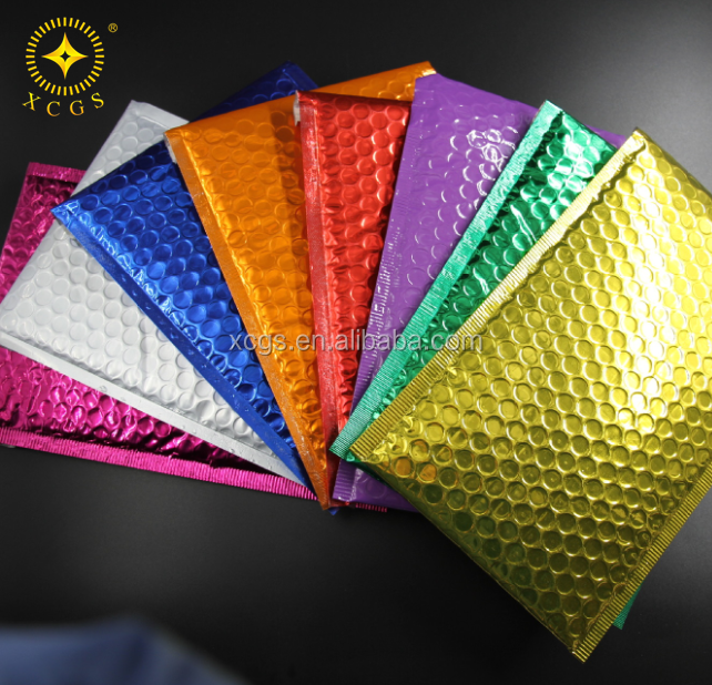 Colored Metallic Bubble Mailer Padded Envelopes A4 Size