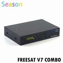 FREESAT V7 COMBO iptv set top box DVB-S2&DVB-T2 1080p full hd satellite receiver SD/HD DVB-S/S2: SD/HD DVB-T/T2 Complian