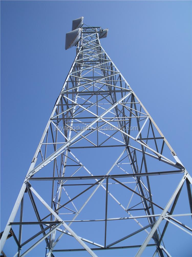 Modern Design 4 Leg Wireless Telecommunication Wifi Steel Lattice Antenna Tower