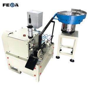 FEDA nut bolt screw making machines 4m thread rod used cigarette making machine