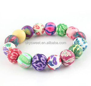 clay material beads bracelet jewelry