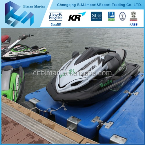 Rotational Mould Motorboat On Saling Jet Ski Floating dock Lift