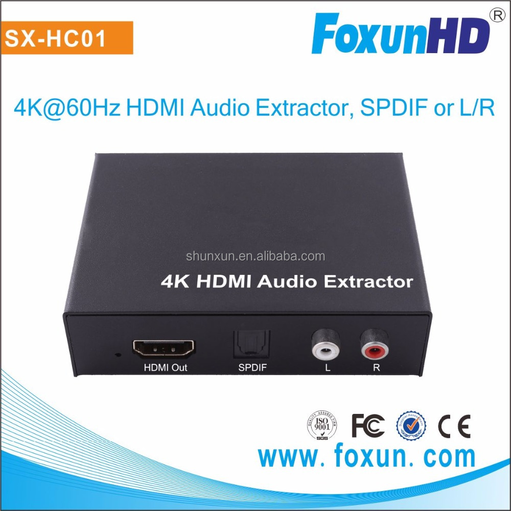 home audio, video & accessories 4K mini audio Extractor hdmi to hdmi