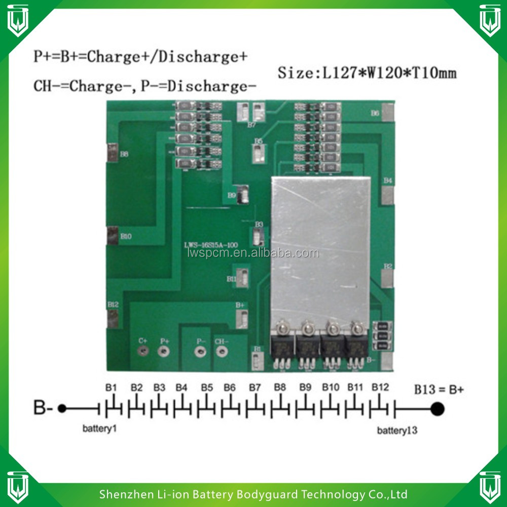 China Pcb Board Battery Manufacturers And Protect Circuit Replace Makitatools Chip For Bl1830 Suppliers On
