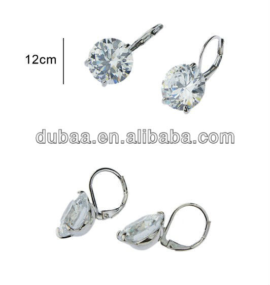 Wholesale Alibaba Stud Earring DB01685 to Ukraine,New Arrived Zircon Vintage Wedding Earring Jewelry Accessory Clip on Earring