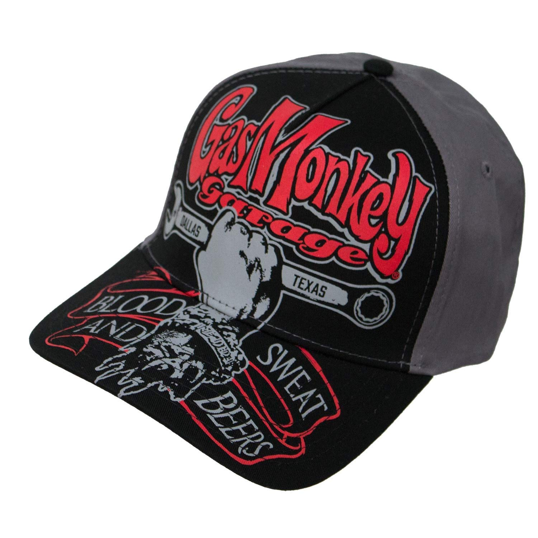 c212a6d0d8f5f Get Quotations · Gas Monkey Garage Texas Automobile Snapback Hat