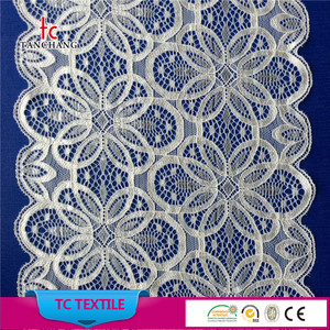 2018 new design 18cm stretch nylon spandex french lace trimming for underwear LSHB366