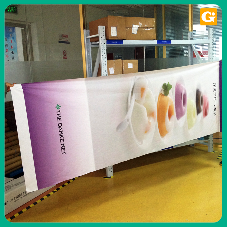 Hot sale factory direct price fabric banner and graphics