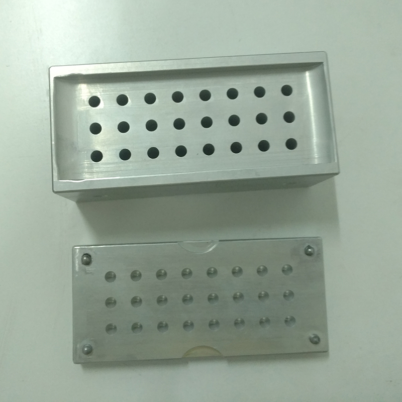 factory custom 24 holes aluminum crayon filling <strong>molds</strong> for painting pens fast delivery