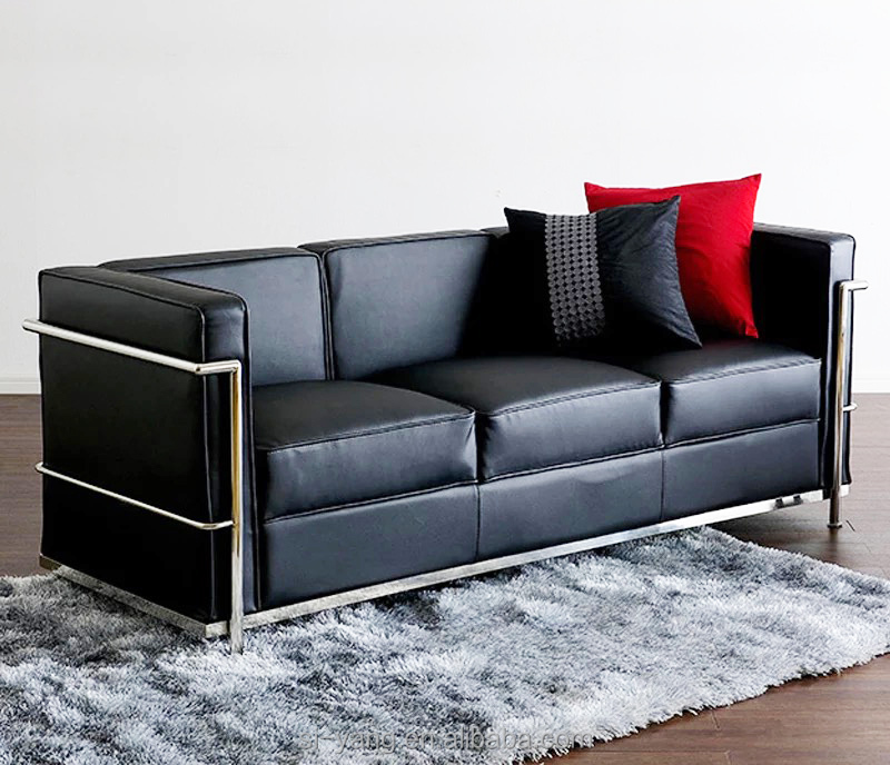 Steel Frame Leather Sofa Sofa Menzilperde Net