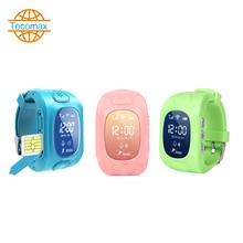 Smart  Watch TC095 automaticall Dial child Watch GPS Tracker Waterproof wrist watch SOS for help  SmartWatch phone