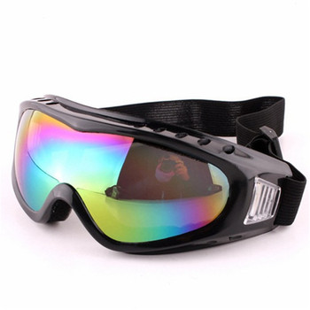 Free sample safety glasses custom design unisex motorcycle goggles for kids