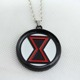 DC Comics Superhero Black Widow Natasha Romanoff The Avengers pendant necklace gift for men KN-127