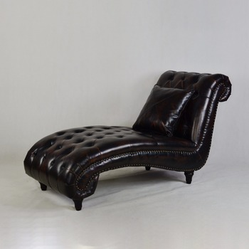 Professional Red Leather Chaise Lounge With Good Service Buy Red