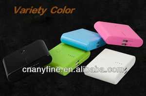 2013 New arrival for mobile phone/iPhone/iPad 20000mAh Portable universal power bank
