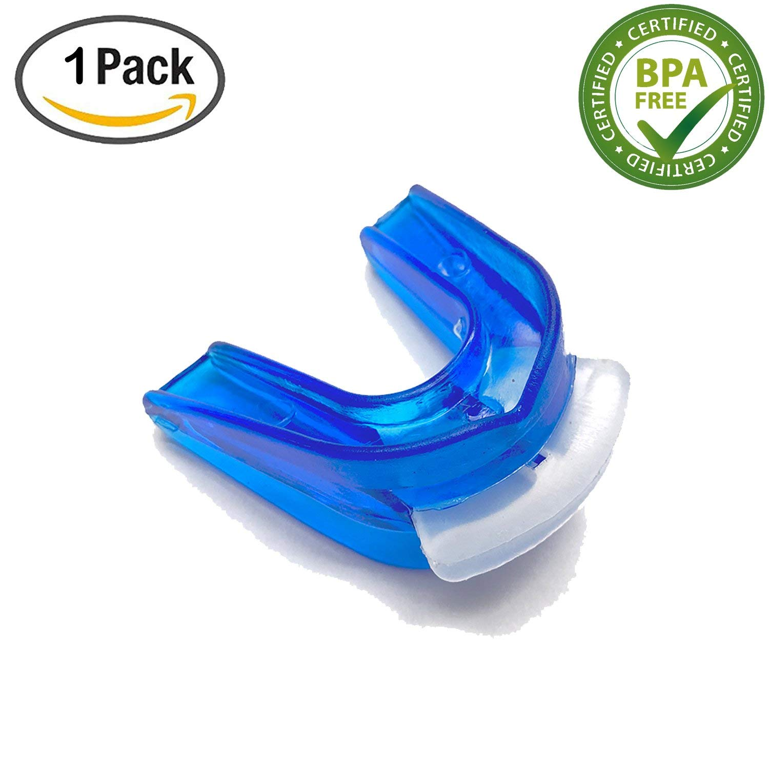 Qual80 Premium Easy Breathing Athletic Mouth Guard Contact Sports Protective Gear for Basketball, Football, Rugby, Boxing, MMA, Ice Hockey, BJJ, Muay,Taekwondo Youth/Adult