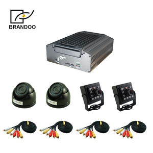 4CH 720P HDD mobile DVR support 3G/4G /GPS used for Car/bus/taxi