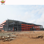 Eco-friendly fire resistant steel structure building in good looking