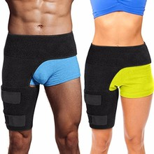 New products Customized Logo Compression Strap Groin Hip Adjustable Thigh Wrap Brace