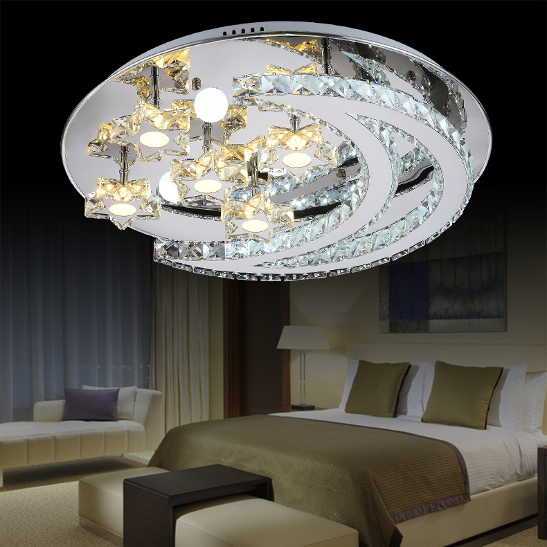 Moon Lights Bedroom: 2016 Moon And The Stars Living Room Lamp LED Crystal Lamps
