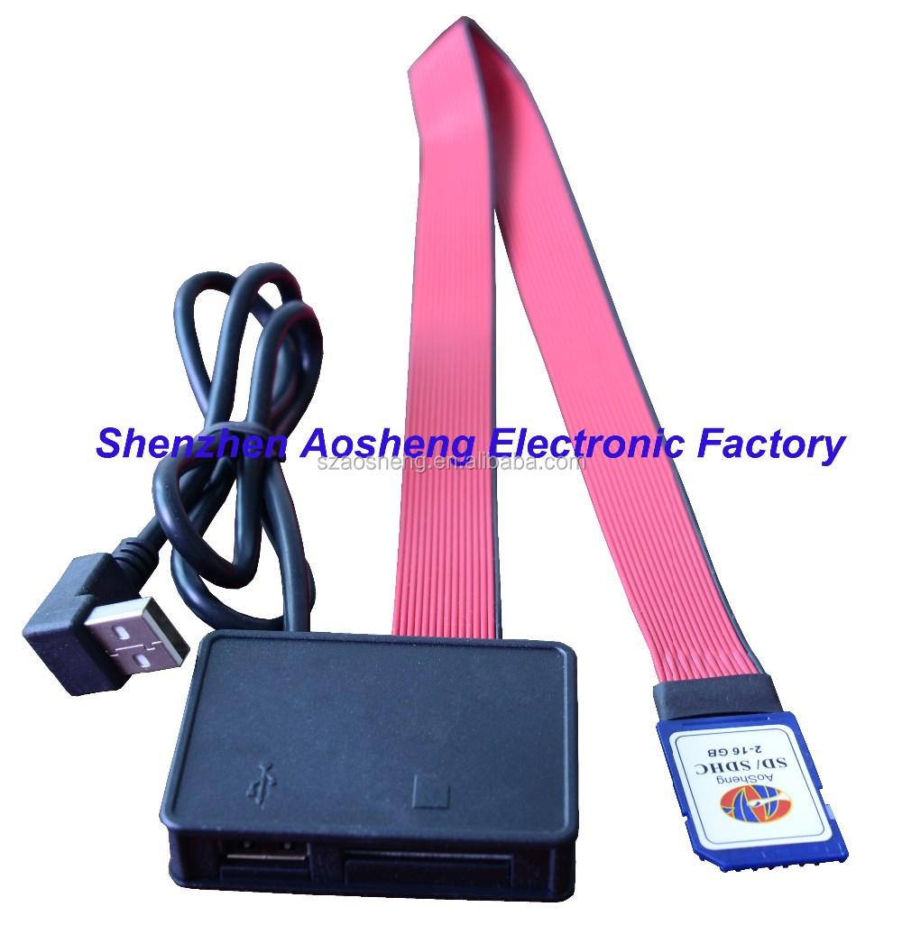 Tarjeta Sd A Usb 2 0 Convertidor Multifunci 243 N Cable De