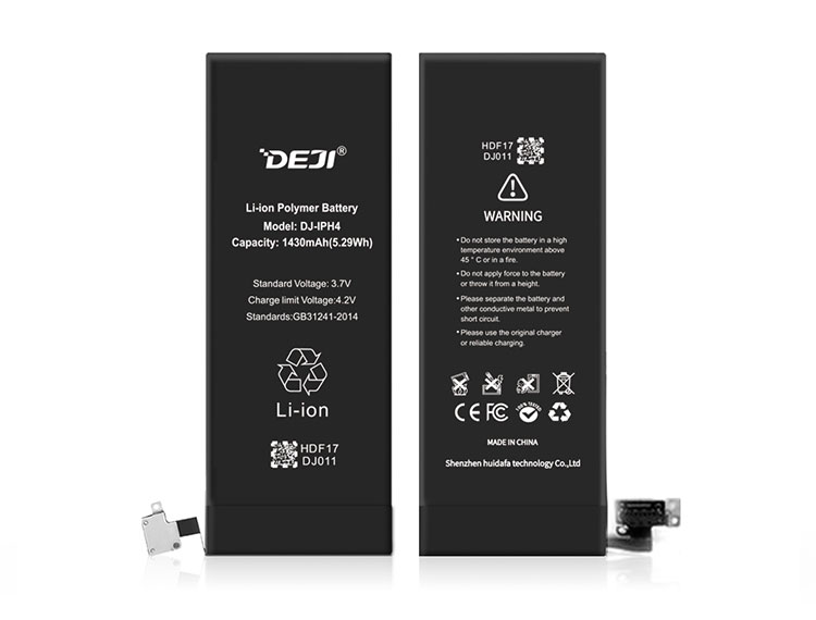 real capacity factory 3.7v wholesale mobile phone battery for 4