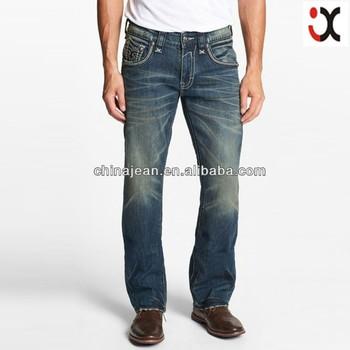 2017 Gros Pour Hommes Brodéjxl21959Buy Brodée Poche Designer jean Design Arrière Innovant Jean Jeans En Denim hdQrst