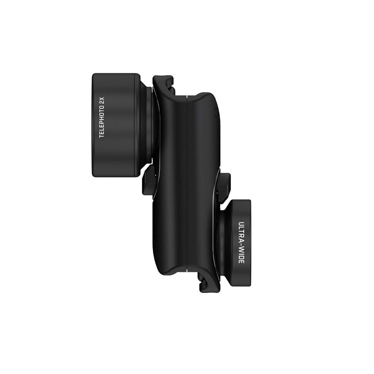 92a1542699 Get Quotations · olloclip ACTIVE LENS SET for iPhone 7   7 Plus  Black Lens Black  Clip