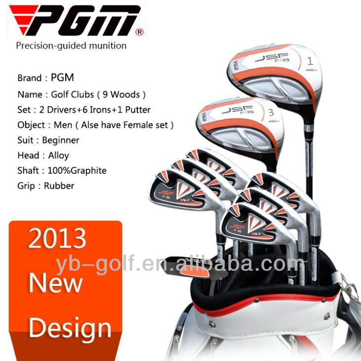 PGM 13 Wood Golf Clubs with Head Putter