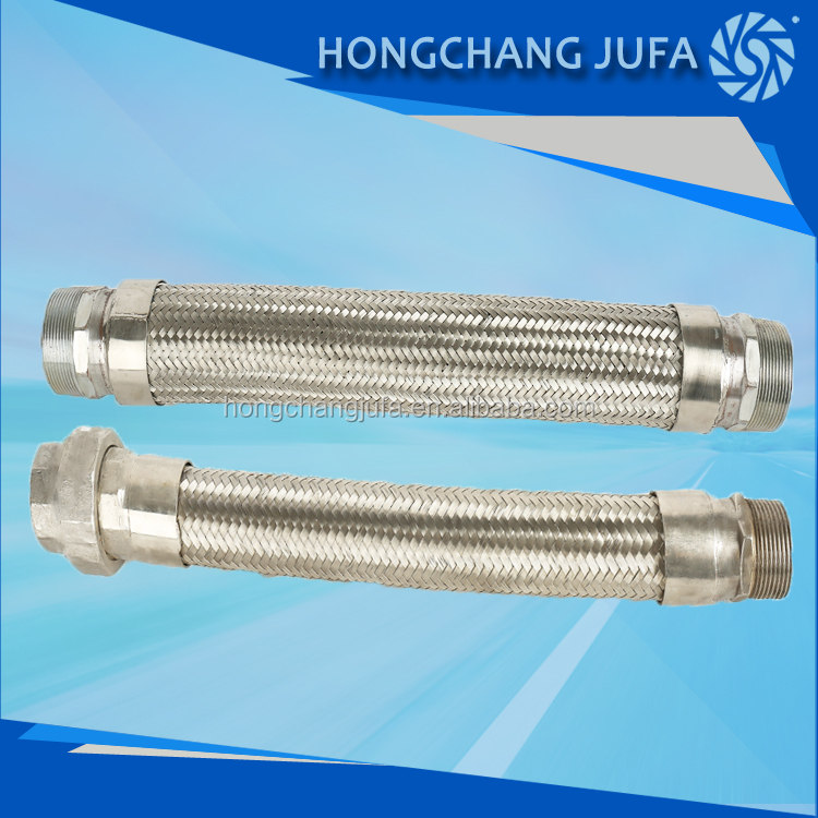 Factory Price 1.5inch Stainless Steel Bellow Wire Braided Hose Flex ...