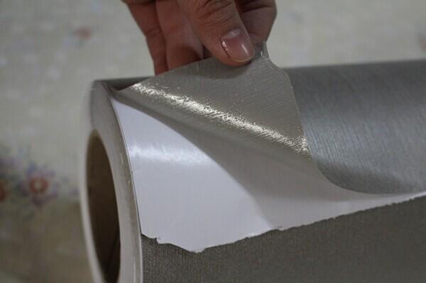 Ziegel-design selbstklebende pvc 3d dekorative tapete
