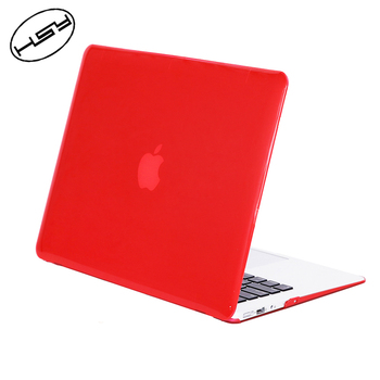HUYSHE PC Computer Laptop Crystal TPU Case cover for Macbook Air Pro 13 11 14 15 inch