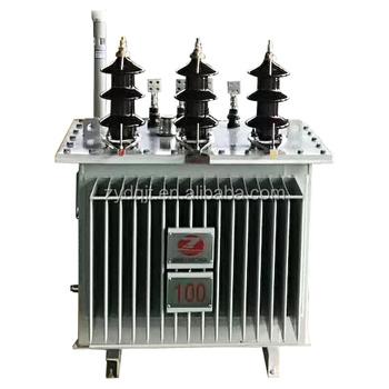 China Power Equipment 10 Kv Three Phase Oil Immersed 75 Kva Transformer