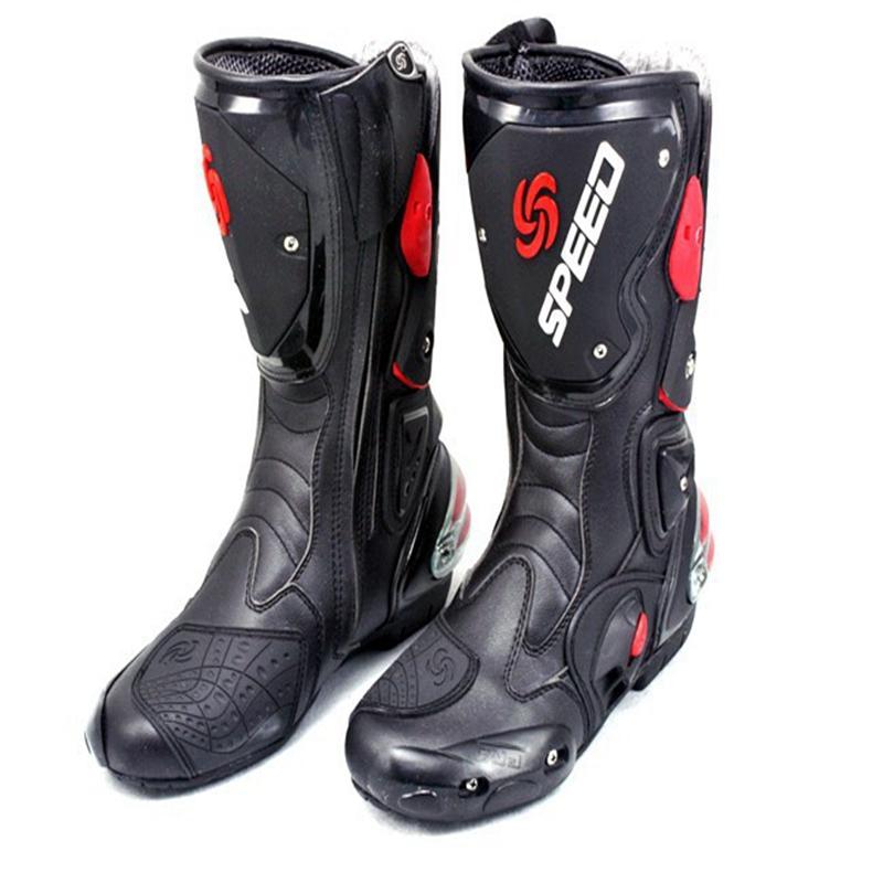 Chaussures Chaudes Hommes Bikers B1001 95 Du Acheter Ventes Longues Vélo Vitesse Moto Racing Botas Sport Motocross Bottes Moto De142 Scoyco Marque erdBoCxW