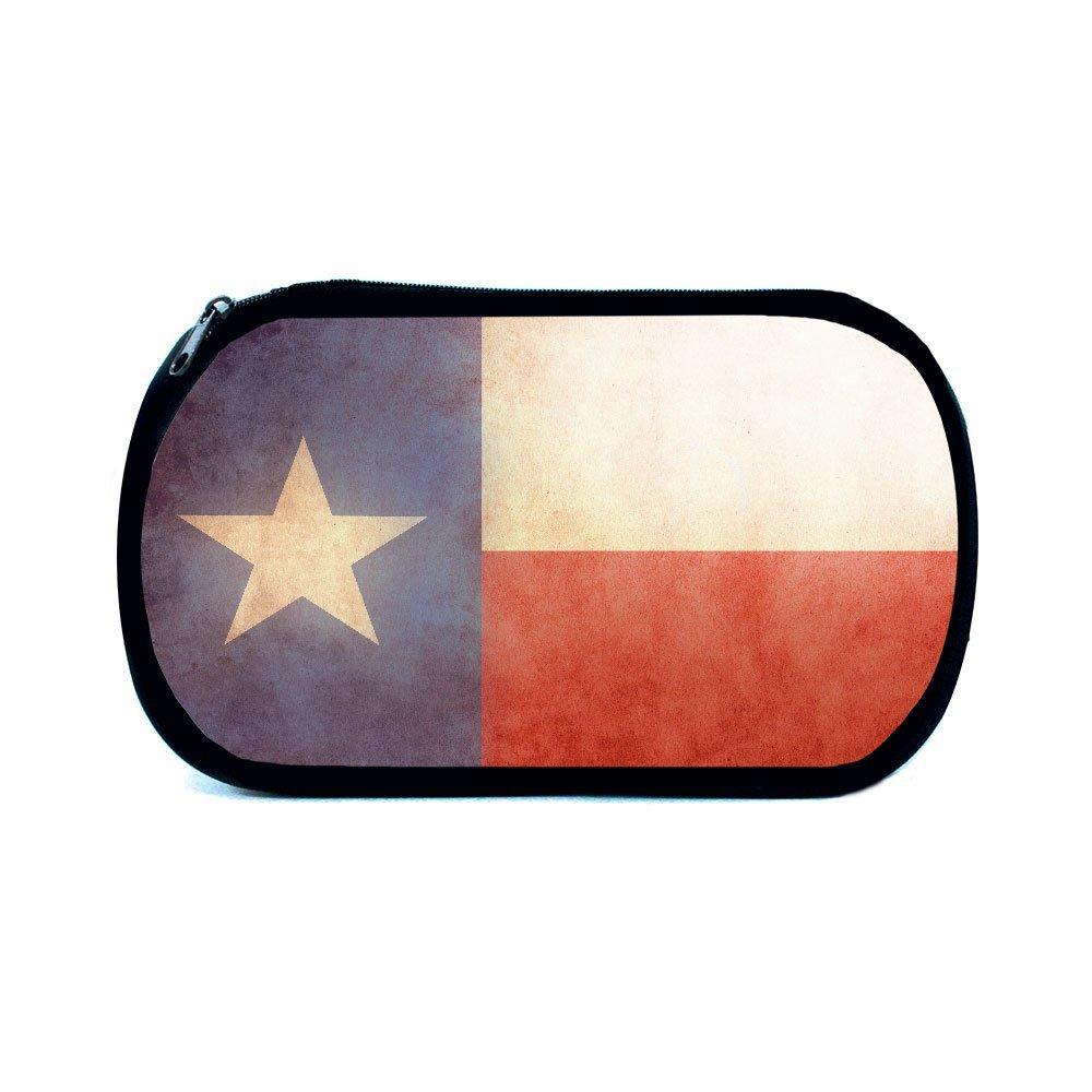 Native Texan Texas State Flag Chrome Metal Auto Emblem