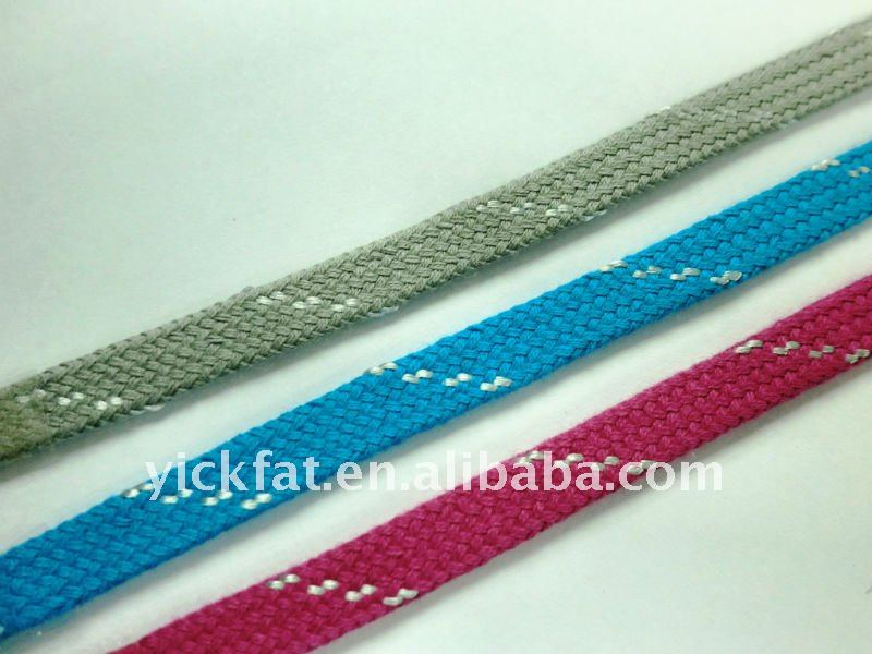 7mm Cotton with Polyester Striped Cord