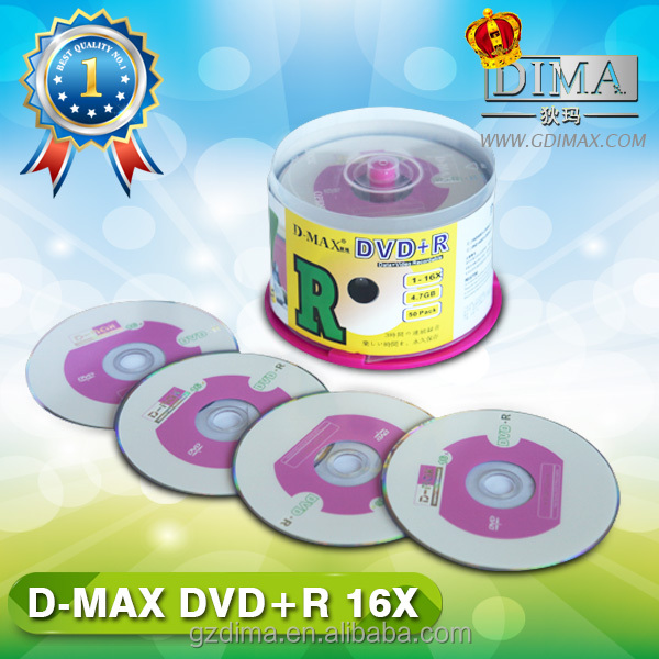 New banner design A grade quality blank imation dvd
