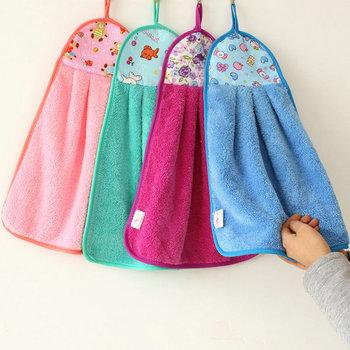 hanging kitchen towel with loop - buy kitchen towel,kitchen towel