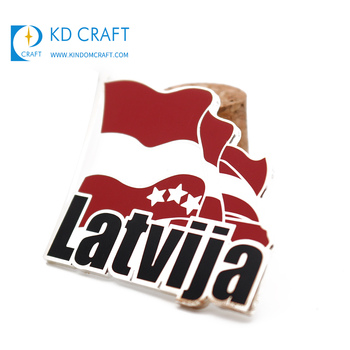 Groothandel promotionele custom metalen harde emaille nationale land vlag pin badge bulk kopen uit china