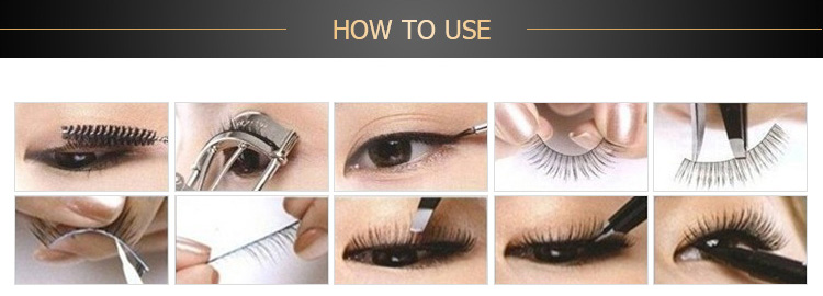 100% real 3d mink lashes คุณภาพสูง strip handmade 25 มม. eyelashes extension