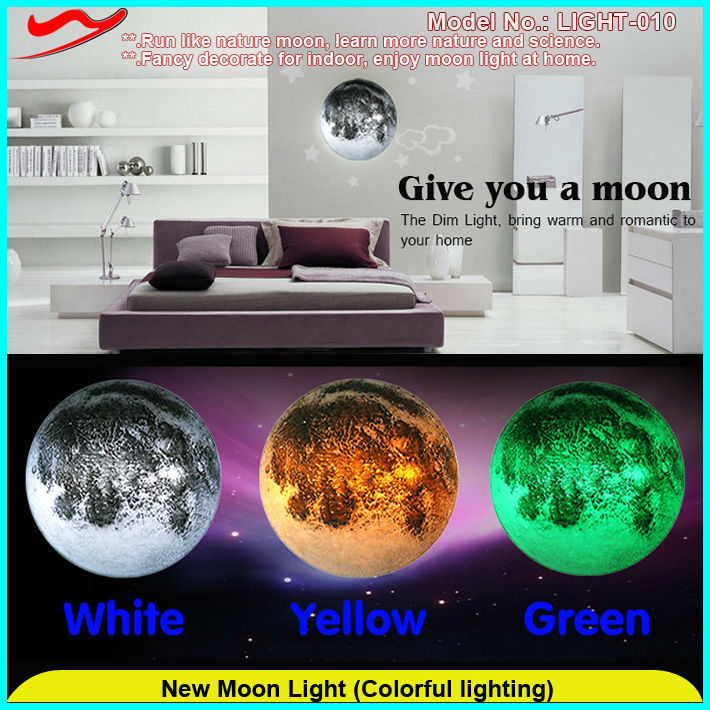 2015 Hot sell low noise novel security gadgets/ New Moon Light