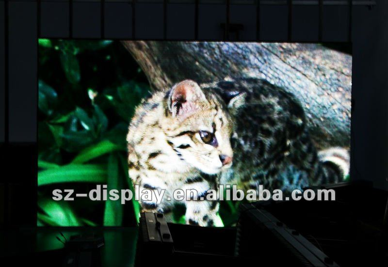 new invented technology 2012 indoor SMD full color p10 led media wall